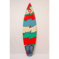 SOLD ... MAMBO SURFBOARD CLASSIC 80s THRUSTER
