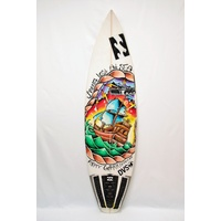 JS PRO SURFBOARD MURAL BY LOUIS GERVAIS FOR MITCH PARKINSON