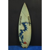 "SOLD ... FREELANCE PENTA FIN 5'8"" shaped by Bruce Greig"