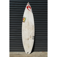 "SIMON ANDERSON 6'0"" NATHAN HEDGE PRO TRESTLES WINNING retro surfboard"
