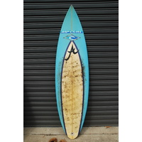 "ALOHA 5'11"" thruster NATHAN HEDGE PRO BOARD retro surfboard"