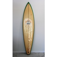 SOLD ... MORNING STAR COL SMITH single fin SURFBOARD