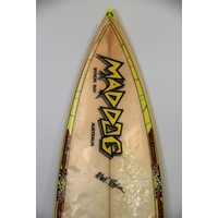 SOLD ... MADDOG THRUSTER RETRO SURFBOARD