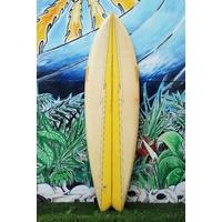 HAWAIIAN LIGHTNING BOLT TWIN FIN surfboard